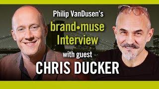 brand•muse Interview with Chris Ducker and host Philip VanDusen
