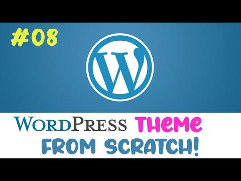 #08 Wordpress theme from scratch | Post thumbnails | Quick programming beginner tutorial