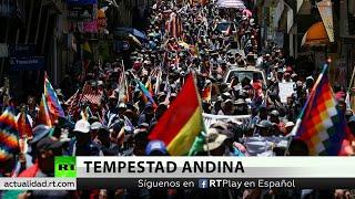 """Evo Morales: """"Mesa, Camacho y Áñez tienen miedo de que vuelva para pacificar el país"""""""