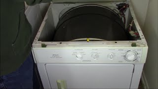 Fixing Squeak/Squeal On A Frigidaire (Kenmore) Gallery Dryer Complete Bearing Replacement