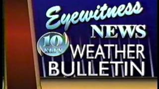 KLFY Eyewitness News Weather Bulletin 1998 Rob Perillo (update)