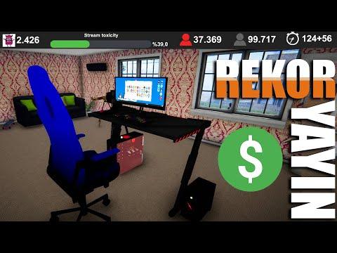120 SAATLİK YAYIN // Streamer Life Simulator Bölüm 19
