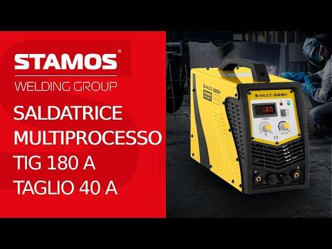 Saldatrice combinata del marchio Stamos Germany dalla serie ECO