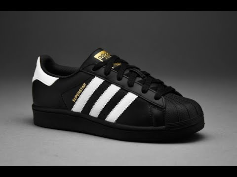 54e918be4ce9c3 QUICK REVIEW UNBOXING - BLACK ADIDAS SUPERSTAR - Youtube Download