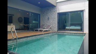 Two Bedroom Private Pool Villa for Rent in Central Chalong Area