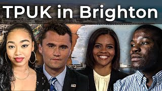 Charlie Kirk, Candace Owens, Dominique Samuels, Joel Chilaka - TPUK in Brighton