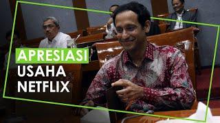 Nadiem Makarim Apresiasi Netflix Dukung Pertumbuhan Film Indonesia, Kirim 15 Orang ke Hollywood