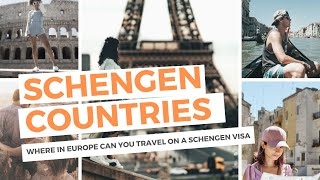 Schengen Countries: Where in Europe Can You Travel on a Schengen Visa