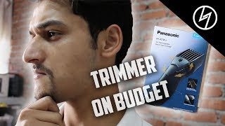 Panasonic ER-207-WK-44B Men's Beard and Hair Trimmer - Unboxing & Brief Review | CreatorShed