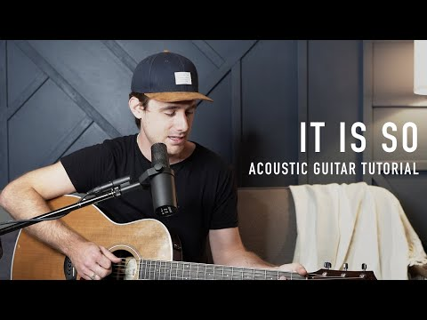 It Is So - Elevation Worship || Acoustic Guitar Tutorial