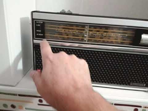 GRUNDIG CITY BOY 1100 (1973-77 Made in Germany) TEST VE iNCELEME ( FM VE MW BAND AKŞAM YAYIN TESTi)