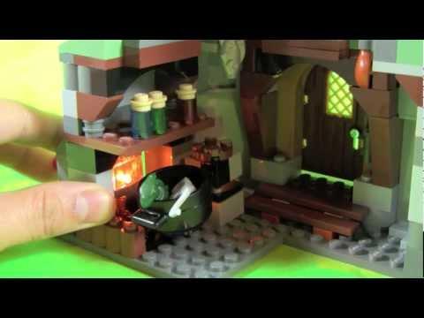 Vidéo LEGO Harry Potter 4738 : La cabane de Hagrid
