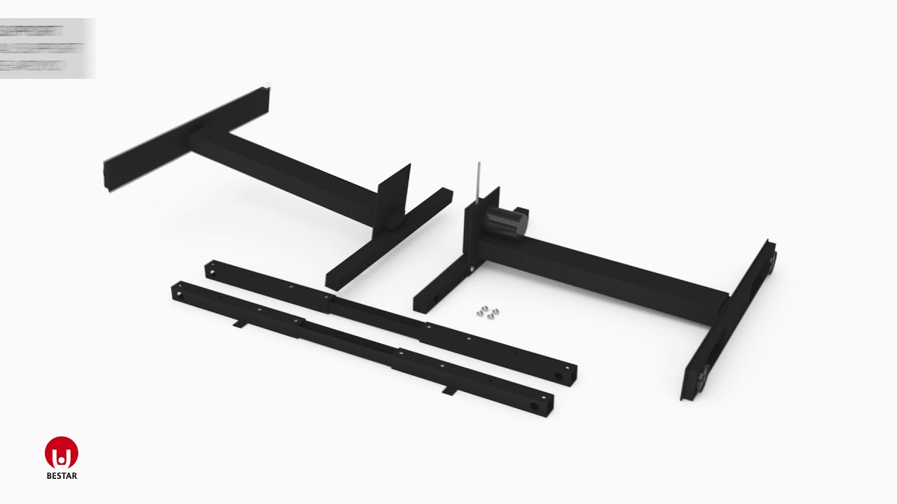 Assembly instruction Frame of Height Adjustable table PA-2000-18
