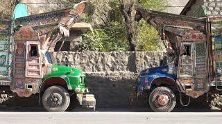 The Karakoram Highway - from China to Pakistan