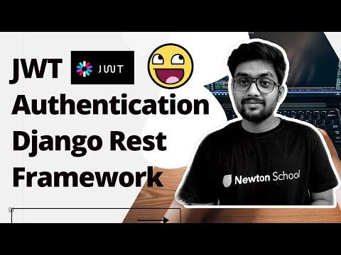 Jwt django rest framework tutorial | Jwt authentication in django rest framework in hindi [ JWT ] thumbnail