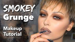 Smokey Grunge Makeup Tutorial - Melt Rust Stack | Alexandra Anele