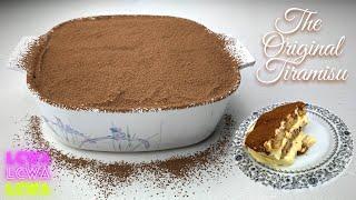 The Original Tiramisu Recipe   Italian Desserts