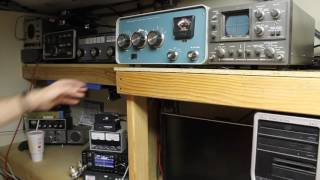 Tuning Up The IC-7300 With Heathkit SB-200 And Kenwood SM-220