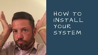 Hair Replacement Hair System Review Attaching your Hair System