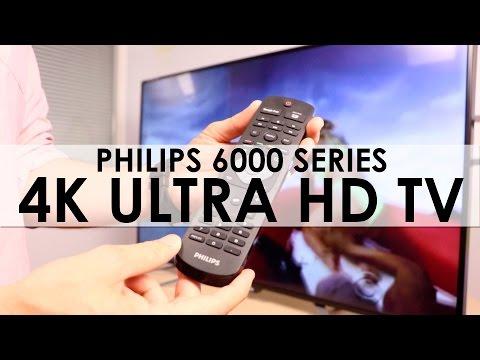 Smart UltraHD TV Serie 6000 de Philips
