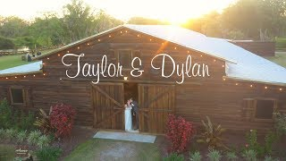 Wedding At Florida Rustic Barn - Taylor & Dylan