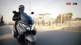 Suzuki Burgman 200 Test Ride
