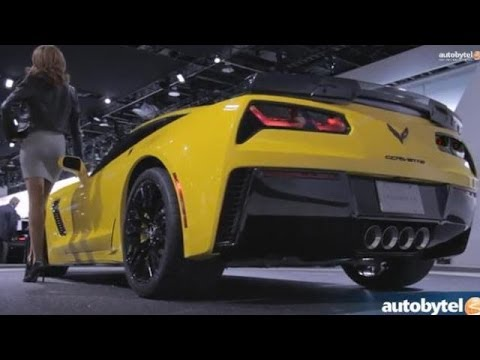 2014 Detroit Auto Show: 2015 Chevrolet Corvette Z06 and C7.R Walkaround