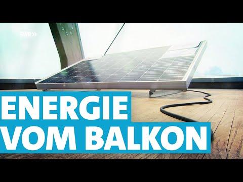 Mini-Photovoltaikanlagen – Sonnenenergie vom Balkon | SWR | Landesschau Rheinland-Pfalz