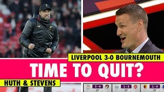 Huth wanted to quit after playing Klopp's team   Liverpool 3-0 Bournemouth   Astro SuperSport