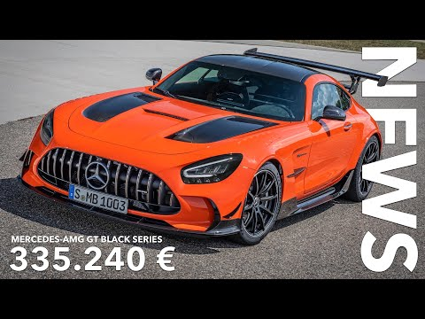 10 Fakten über den Mercedes-AMG GT Black Series! 335.240 € dank MwSt. Senkung | Voice over Cars News