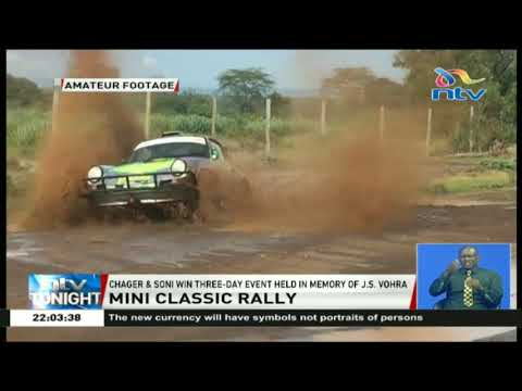 Mini Classic Rally: Chager and Soni win three-day event