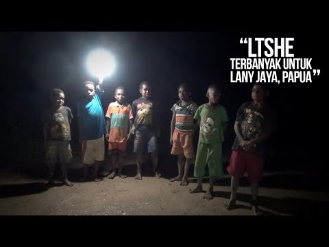 Terima LTSHE Terbanyak se-Indonesia, Malam Lanny Jaya Kini Terang
