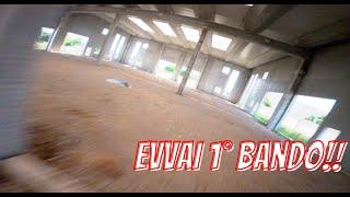 EVVAI BANDO!! - FPV Freestyle drone - 1° Volo in bando con FPV freestyle drone - 4K
