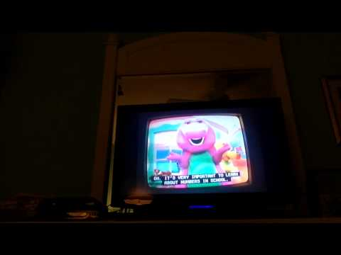 Opening to More Barney Songs 2000 DVD (Jason at nurse blue t