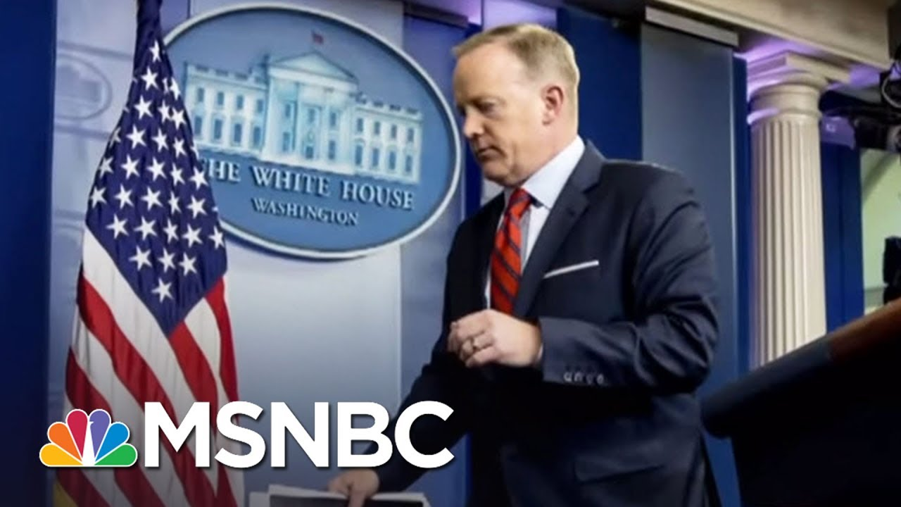 Sean Spicer Looking For His Replacement: Report | Morning Joe | MSNBC thumbnail