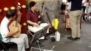 Apresentação de música chinesa