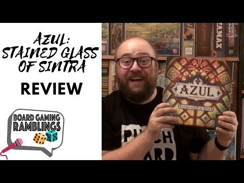 "Board Gaming Ramblings: ""Azul: Stained glass of Sintra"" Review"