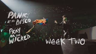 Panic! At The Disco - Pray For The Wicked Tour (Week 2 Recap)