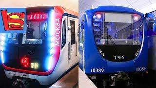 Метро в Москве и в Санкт Петербурге сравнение Метрополитена для детей