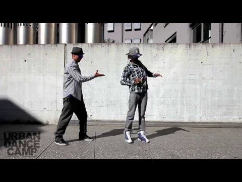 TIME CONTROL :: AMAZING DUBSTEP DANCE :: MARQUESSE SCOTT & POPPING JOHN