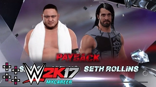 In advance of WWE Payback tonight check out this WWE 2K17 match
