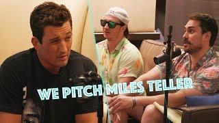 PMT Tricks Miles Teller Into Appearing In Our Film Boner Dogs