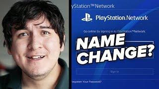 PSN Still Won't Let Us Change Our Name