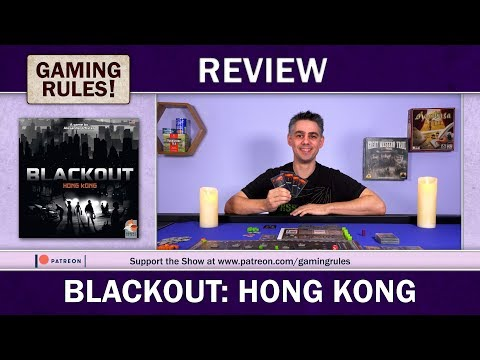 Blackout: Hong Kong - A Gaming Rules! Review