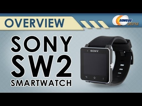 Sony SW2 Black SmartWatch 2 Overview - Newegg Lifestyle