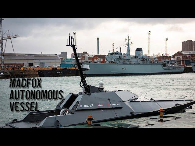Королевский флот Великобритании получил роботизированные катера Madfox