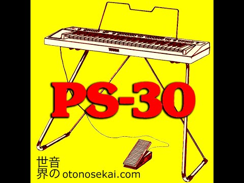Virtual PS-30 Portasound Expansion Pack (ENGLISH demo)