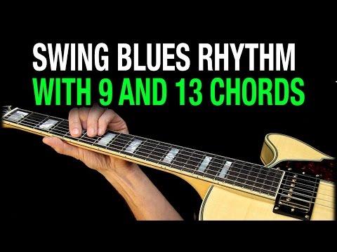 Swing Blues Chords Guitar Lesson E13 A9 B9
