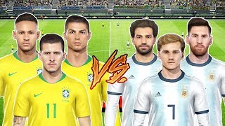 How France Could Line Up With RONALDO, MESSI, NEYMAR ? PES