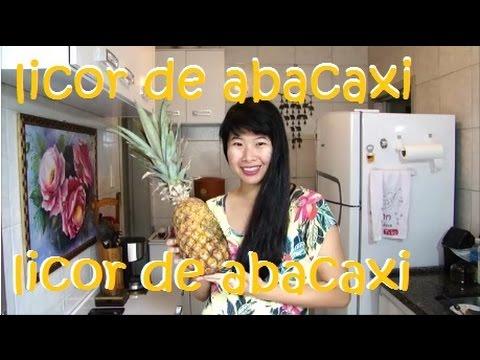 Licor de Abacaxi - rec 2